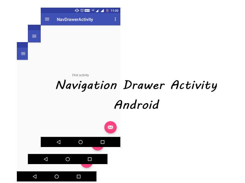 Navigation Drawer Activity in Android - Android Mad