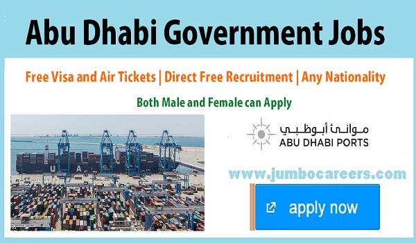 Current Government jobs in Abu Dhbai, Find all new Government jobs in Gulf countries,