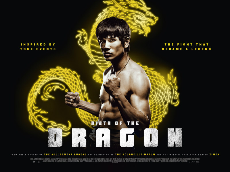 BIRTH OF THE DRAGON uk poster