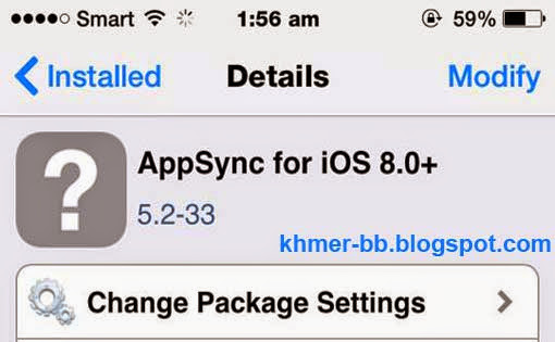 AppSync for iOS 8 from Cydia, How to Install without Jailbreaking