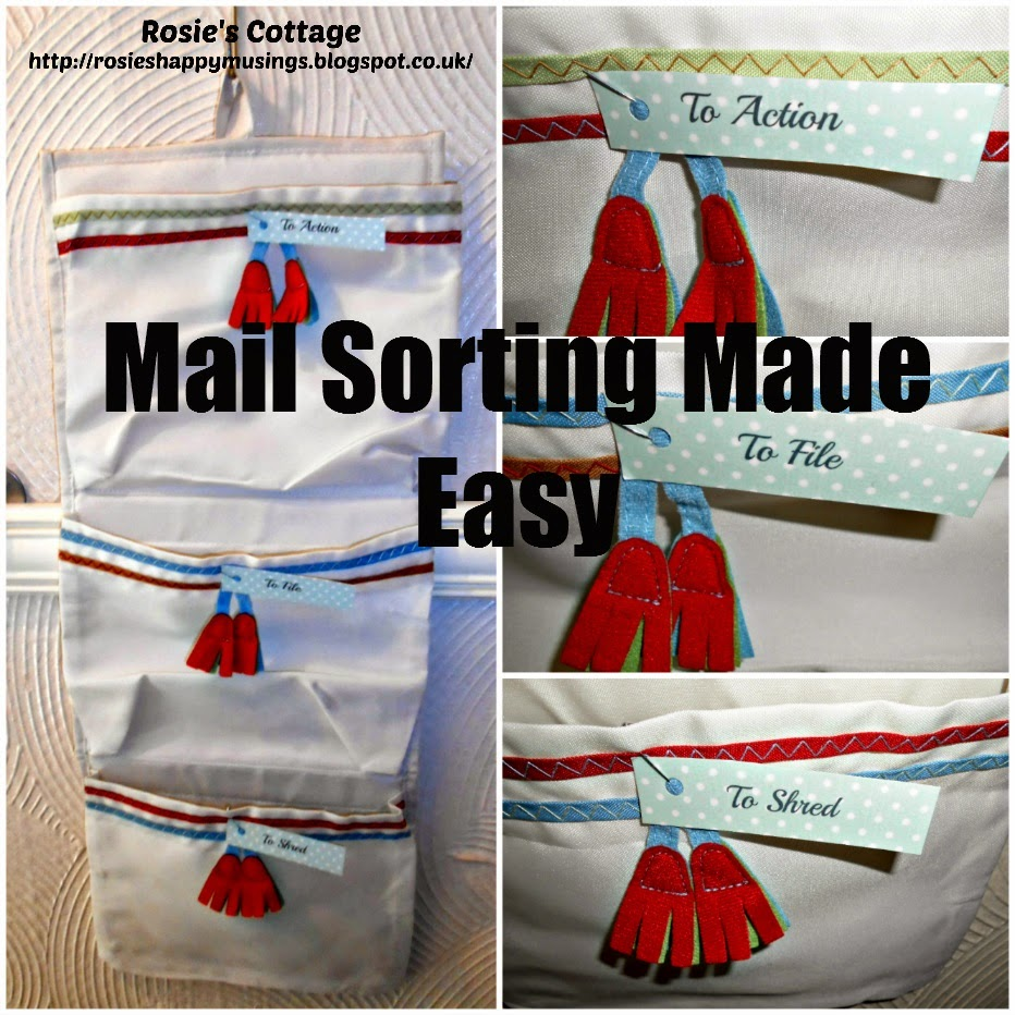 Mail sorting made easy: How to sort into items to action, file, shred and recycle in minutes...