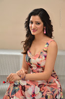 Actress Richa Panai Pos in Sleeveless Floral Long Dress at Rakshaka Batudu Movie Pre Release Function  0159.JPG