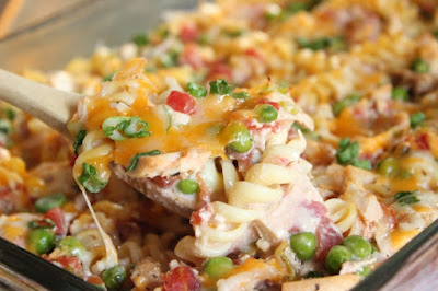 New way to jazz up tuna casserole!