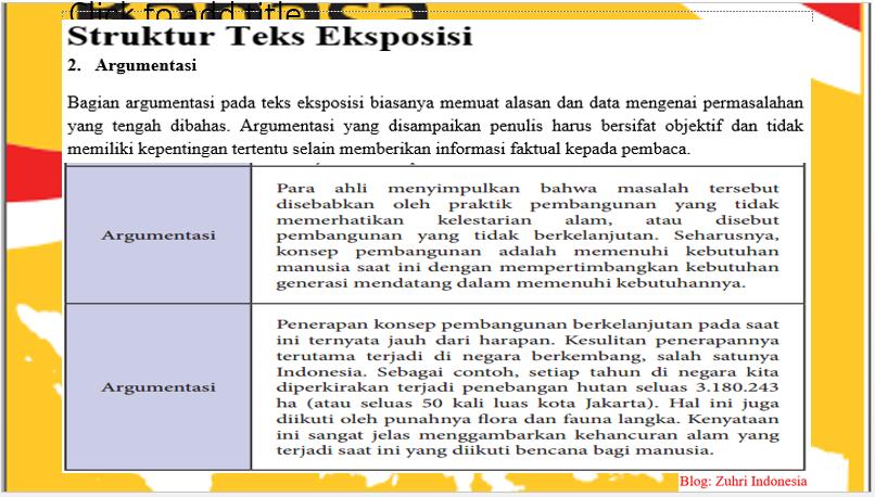 Ppt Struktur Dan Aspek Kebahasaan Teks Eksposisi Zuhri Indonesia