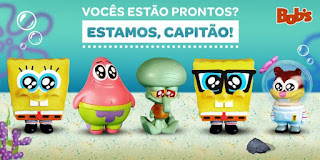 Promoção Bobs Toy Art Bob Esponja