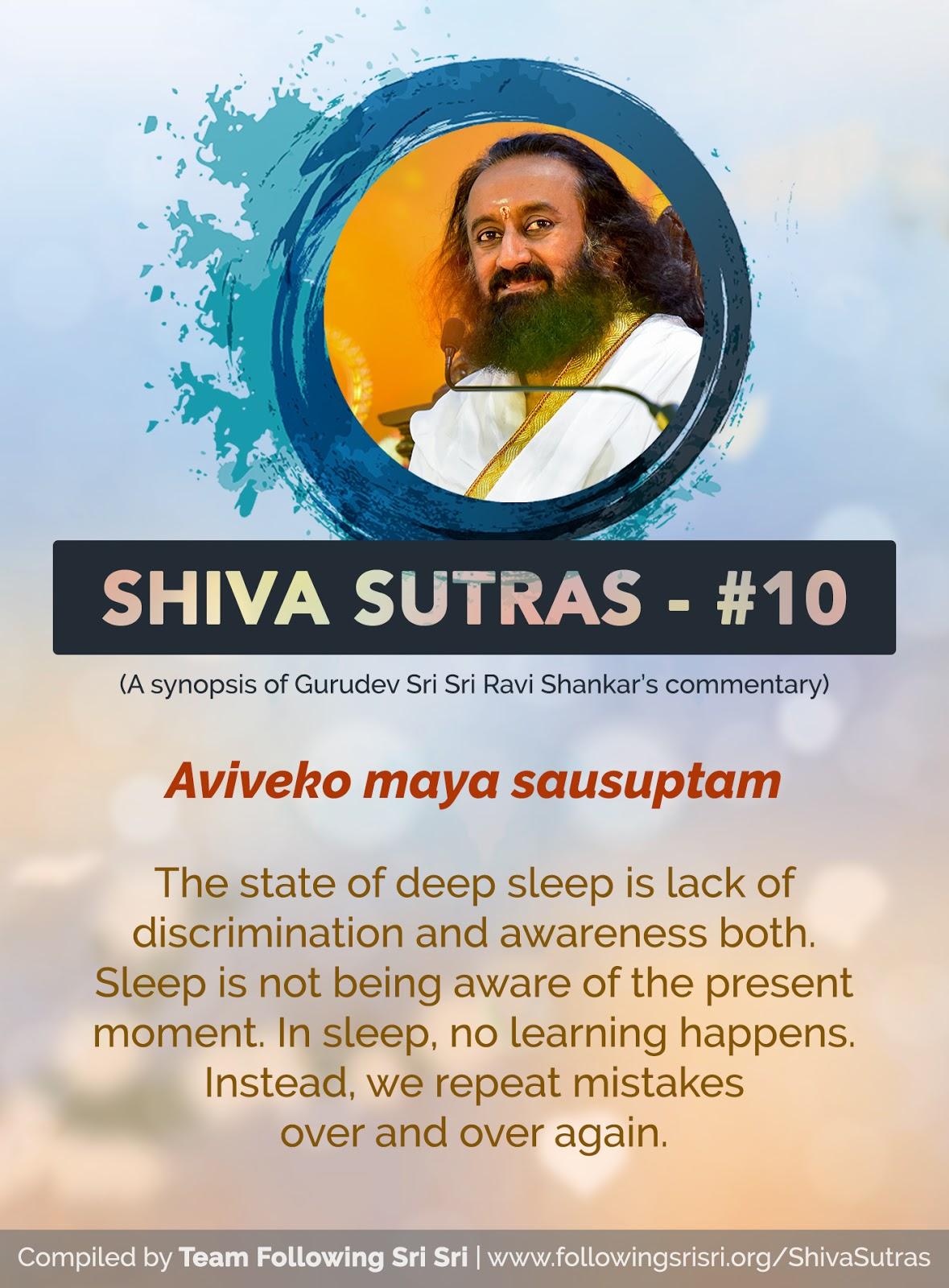 Shiva Sutras - Sutra 10