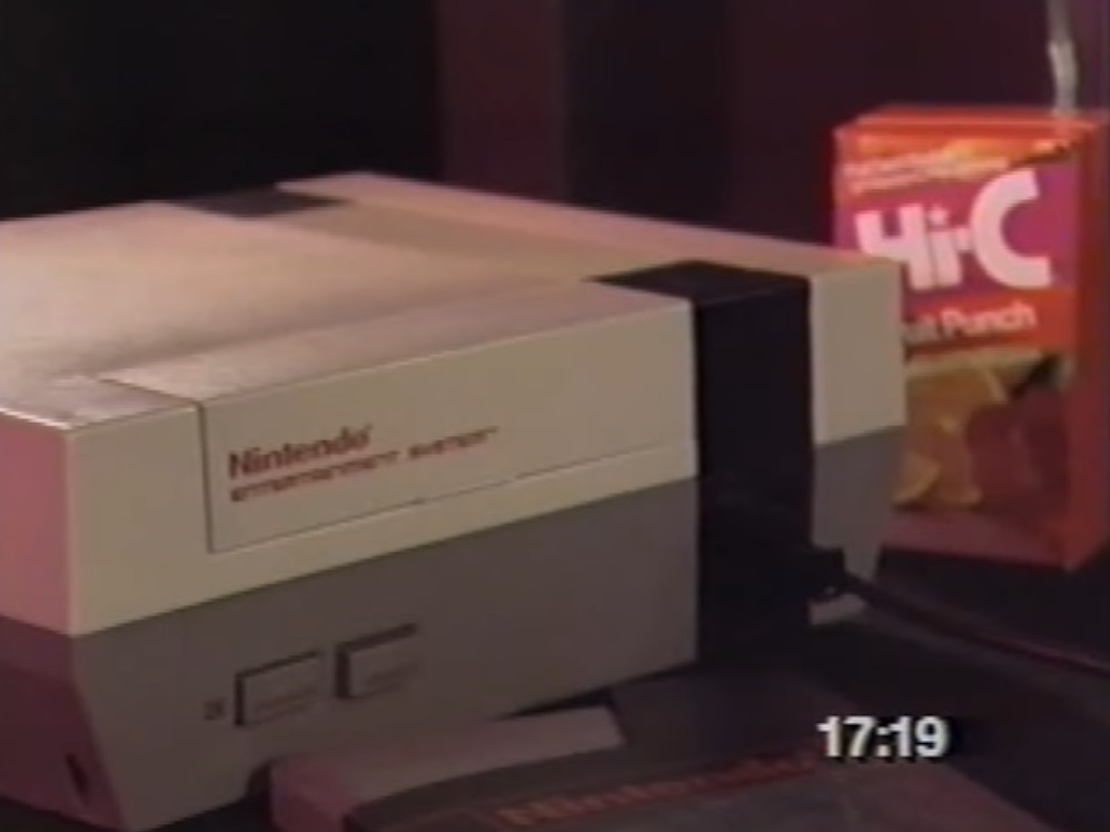 The Game Players' Power Glove GameTape! (VHS Review) ~ THE