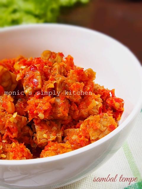 resep sambal lado tempe