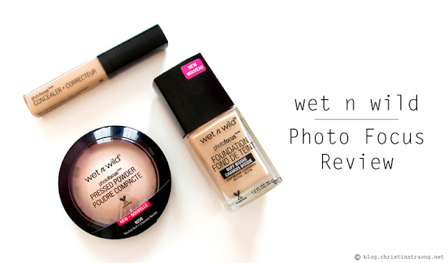 wet n wild Photo Focus Foundation Concealer Pressed Powder Collection Review