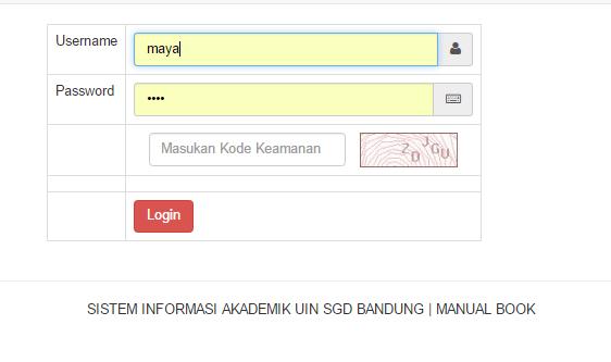 siakad%2Blogin - Source Code Aplikasi Sistem Informasi Akademik Berbasis Web