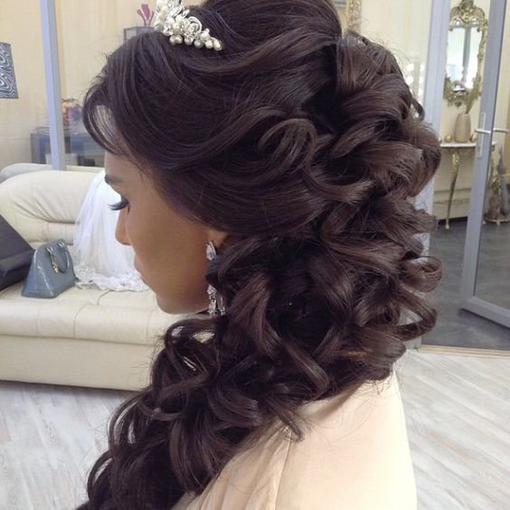 Side Hairstyles Wedding: Side Swept Wedding Hairstyles