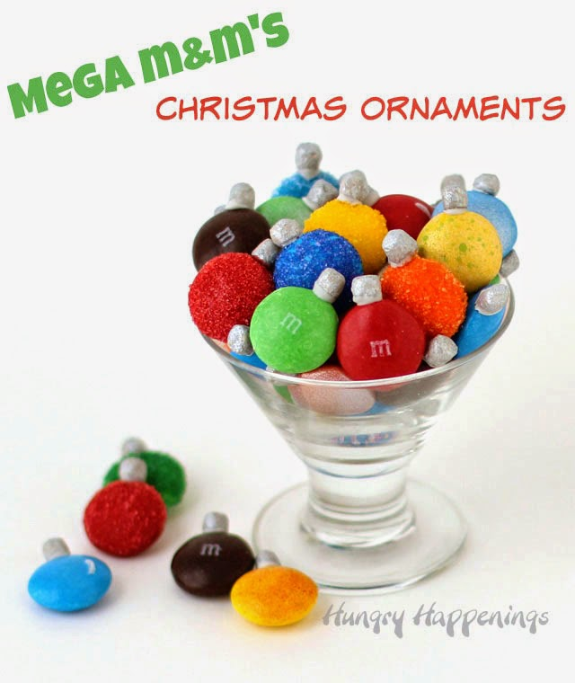 Hungry Happenings: Mega M&M's Christmas Ornaments