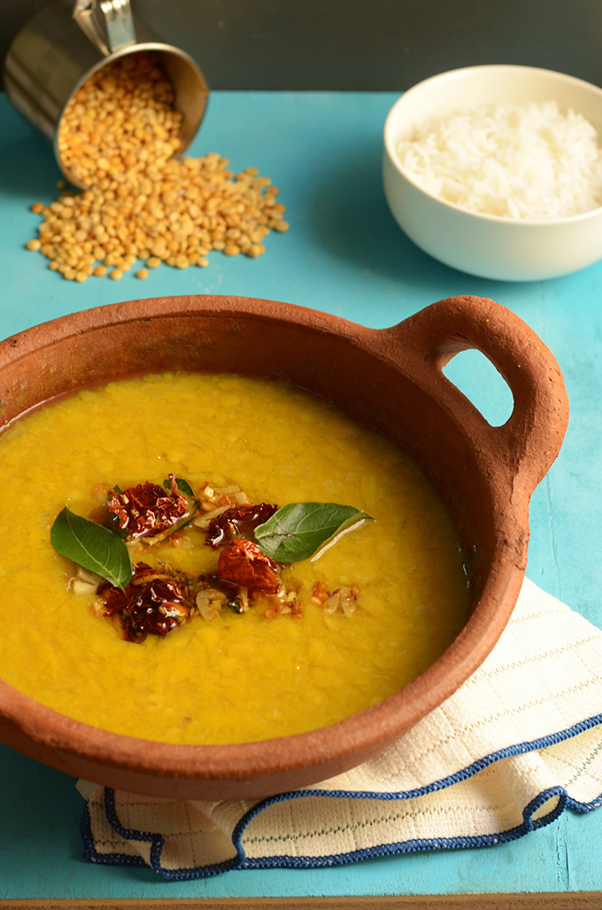 simple yellow dal lentils