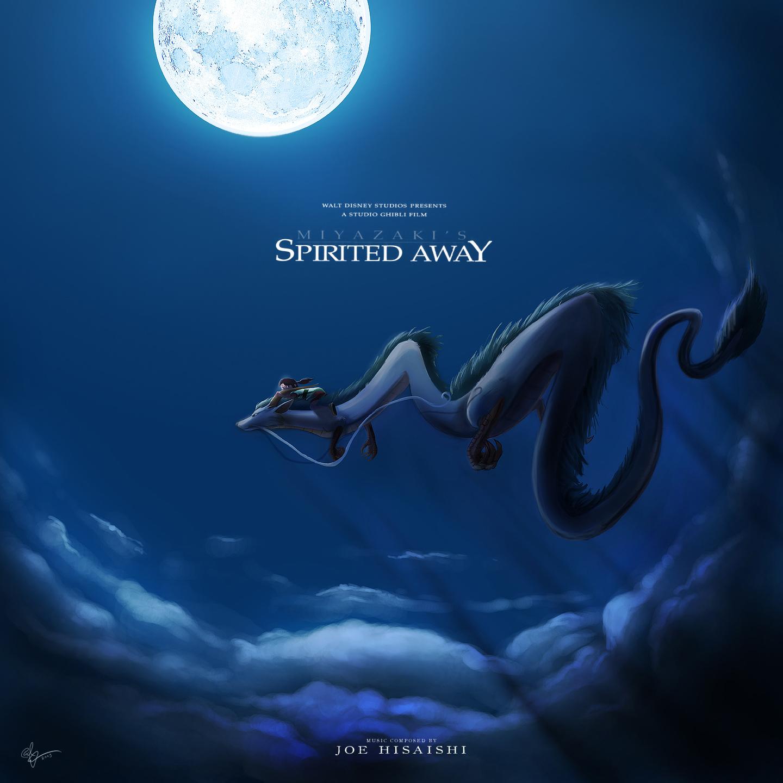 The Geeky Nerfherder: Movie Poster Art: Spirited Away (2001)