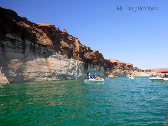 Lake Powell, Arizona ---    Ms Toody Goo Shoes