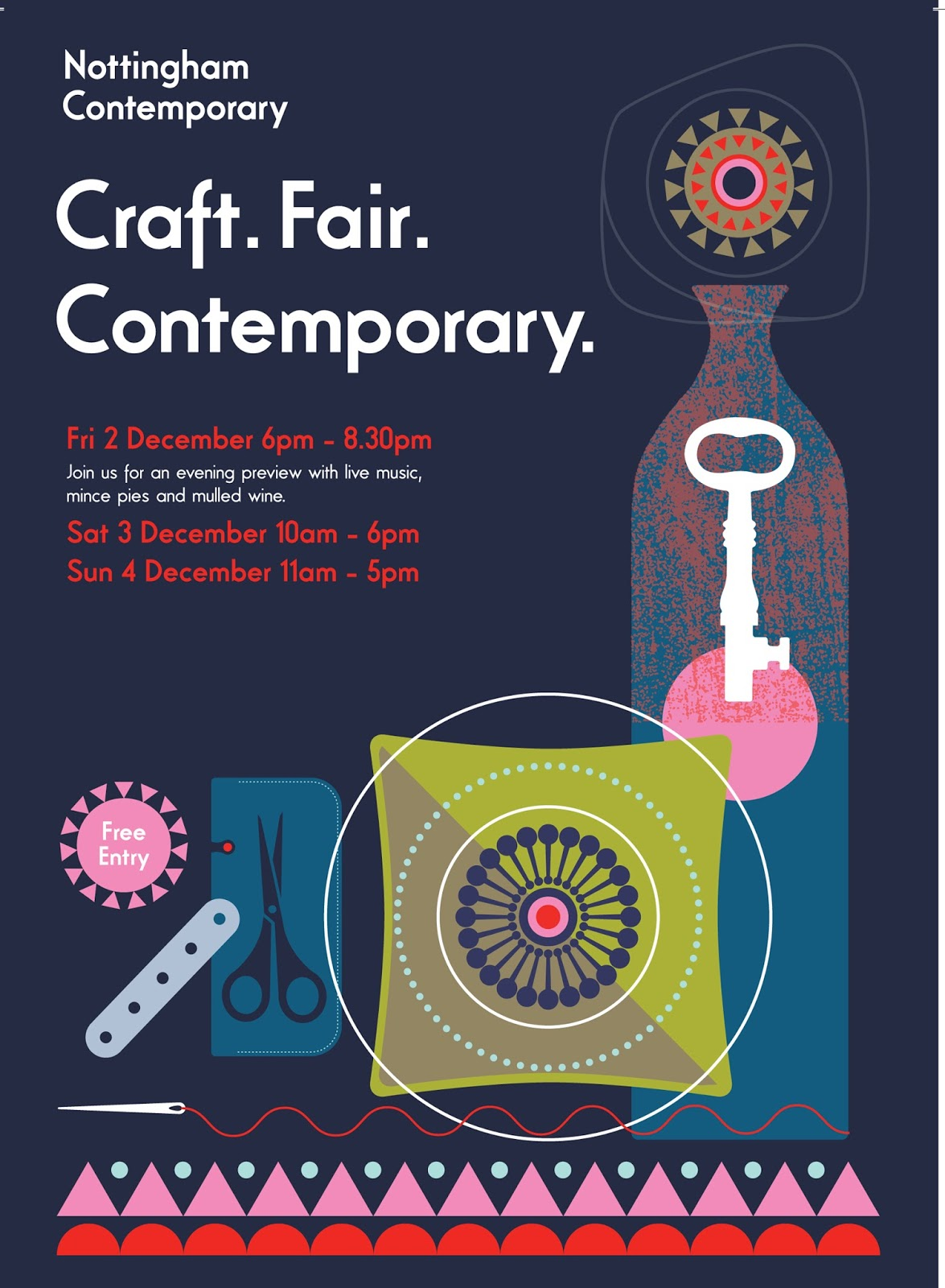 Nottingham Contemporary Craft Fair