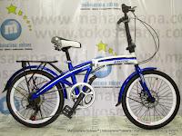 Sepeda Lipat Exotic ET2625-7D 7 Speed 20 Inci