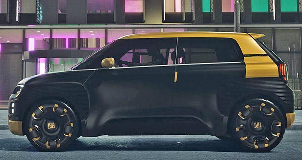 Burlappcar Fiat Centoventi Concept