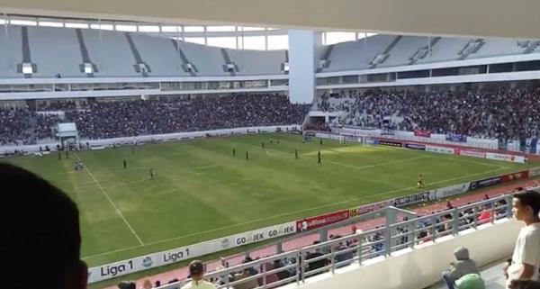 [VIDEO] Intip Keseruan Laga Persiba Lawan Persegres di Stadion Batakan