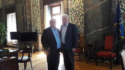 Συνάντηση με τον Πρόεδρο της Βουλής των Ελλήνων κ. Ν. Βούτση είχε ο Βουλευτής Ημαθίας και Πρόεδρος της Ειδικής Επιτροπής Οδικής Ασφάλειας της Βουλής κ. Γ. Ουρσουζίδης, στο γραφείο του Προέδρου στη Βουλή.