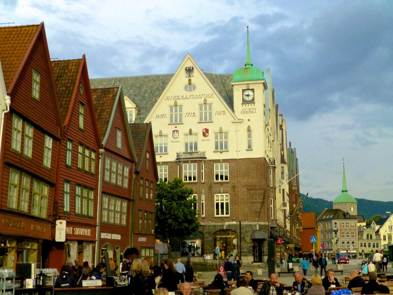 Terrazas en Bryggen