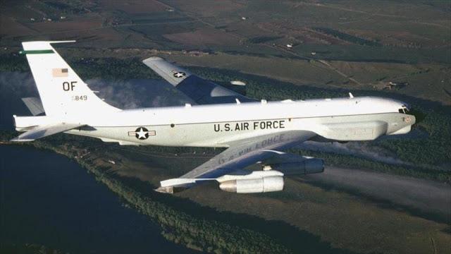 Un avión espía de EEUU sobrevuela frontera rusa en Crimea