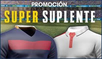 WilliamHill promocion super suplente Barcelona vs Sevilla 11 agosto