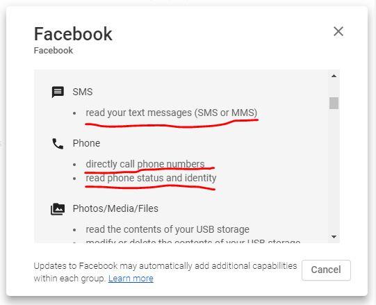 فيسبوك يعمل مكالمات من هاتفك مباشرةً