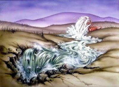 Resultado de imagem para dragão persegue o povo de deus