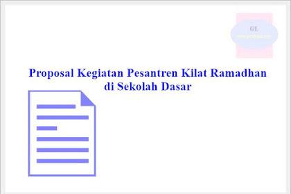 Proposal Kegiatan Pesantren Kilat Ramadhan di SD