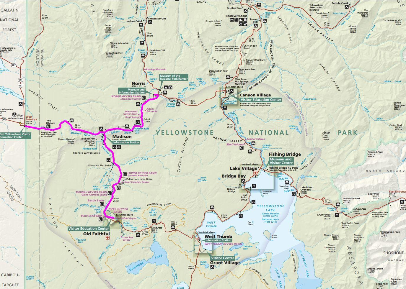 GoneByRV: Yellowstone\'s Old Faithful Area and the Norris Geyser Basin