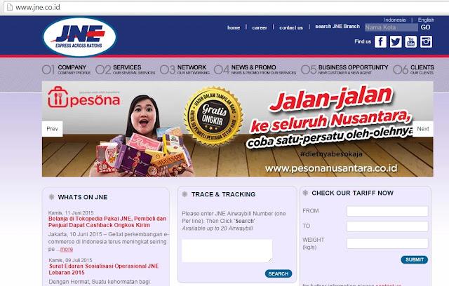 Tracking Barang di JNE.co.id Lemot Pindah saja ke Cekresi.com
