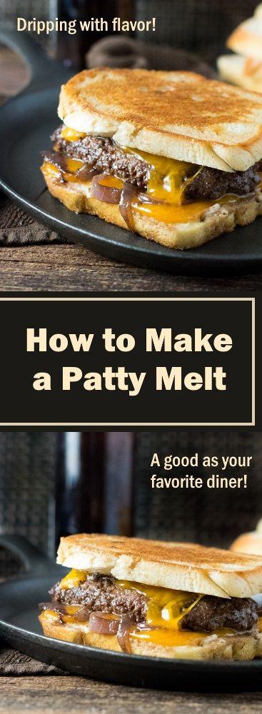 HOW TO MAKE A PATTY MELT