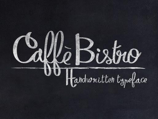 Download CaffèBistro Handwritten Typeface Free