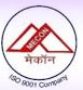 MECON Limited Recruitment 2018
