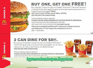 Free Promo Codes and Coupons 2019: Mcdonalds Coupons