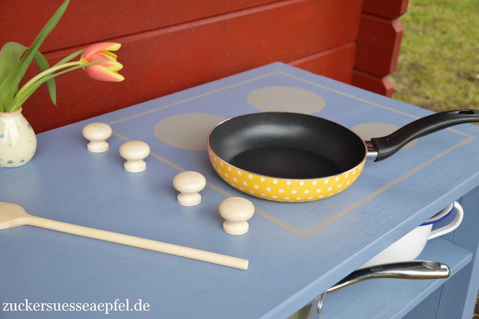 ♥ Zuckersüße Äpfel - kreativer Familienblog ♥: Eine Matschküche ...