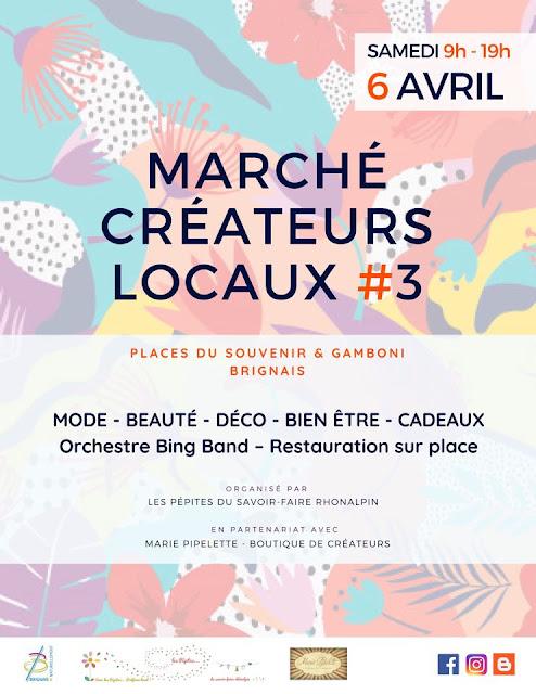 Les Pépites du Savoir-Faire Rhônalpin - Marché Créateurs Locaux #3 - Brignais 2019