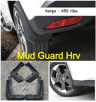 Aksesoris Wajib Honda HR-V : Mud Guard