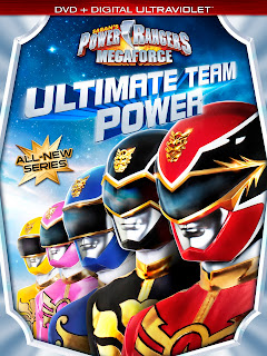 DVD Review - Power Rangers Megaforce: Ultimate Team Power