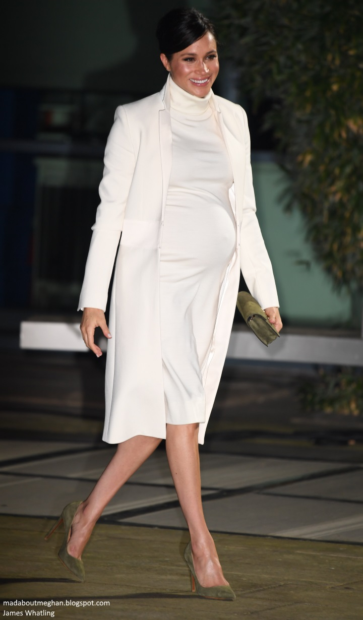 1987531bc The Duke and Duchess of Sussex stepped out this evening for a gala  performance of  The Wider Earth  in support of The Queen s Commonwealth  Trust and The ...