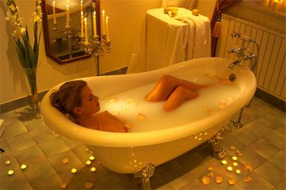 Morbida e Donna  IO  Regole per un ottimo bagno caldo