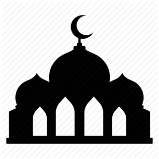 4570book Clipart Masjid Hitam Putih Kehidupan In Pack 6117