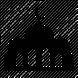 Gambar Masjid Hitam Putih Nusagates