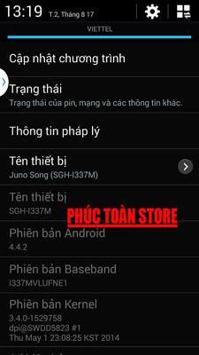 Tiếng Việt Samsung I337M alt