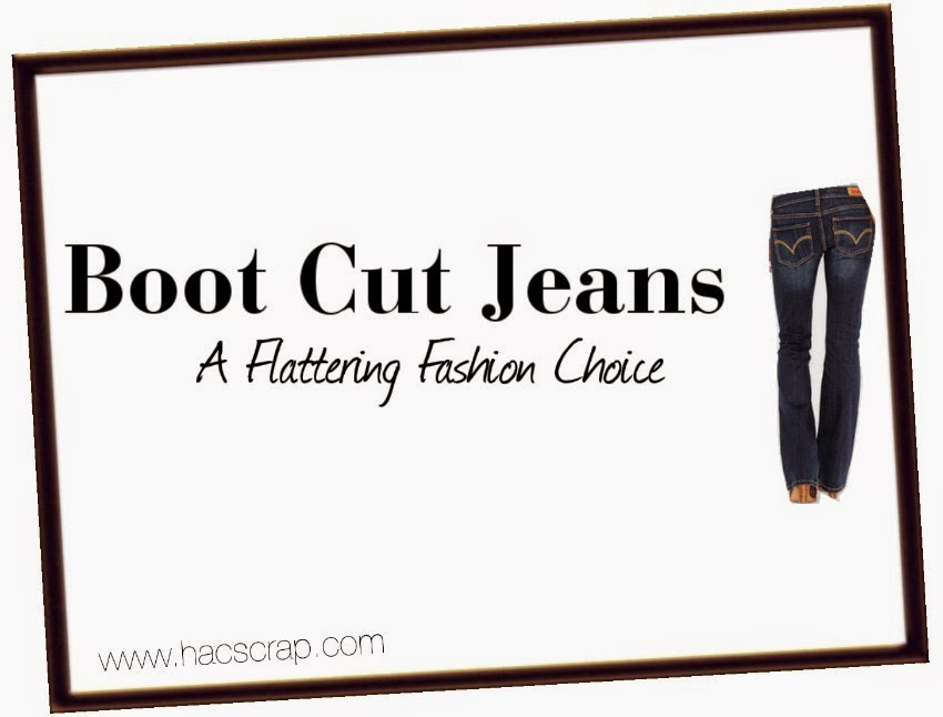 Boot Cut Jeans | MidLife Mom Style from My Scraps