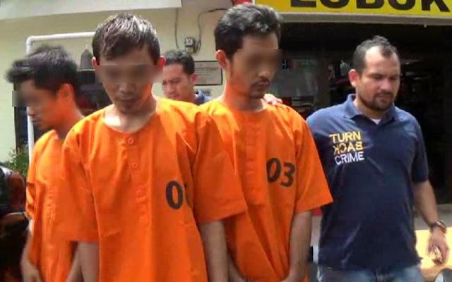 Tiga pelaku pencurian bermotor