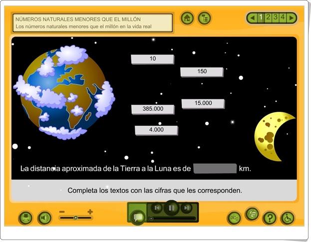 NÚMEROS NATURALES MENORES QUE EL MILLÓN EN LA VIDA REAL (Aplicación Interactiva de Matemáticas de Primaria)