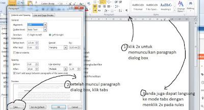 cara praktis bikin daftar isi di Microsoft word