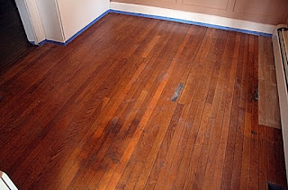 Sandless Hardwood Floor Staining, NYC